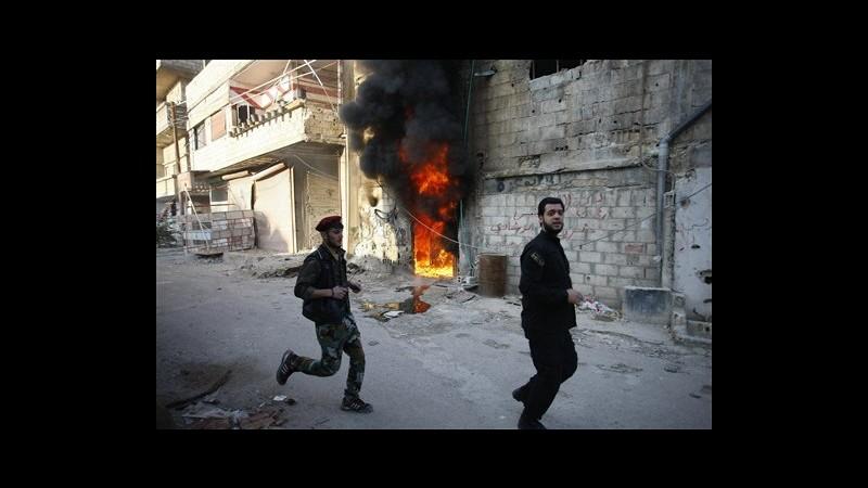Siria, in due giorni 160 morti in scontri ribelli-soldati a Ghouta