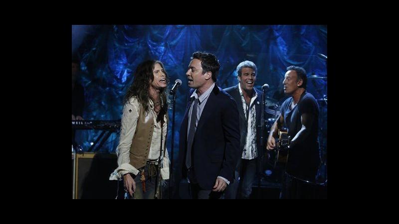 Sandy, concerto per vittime con Bruce Springsteen, Bon Jovi,Billy Joel