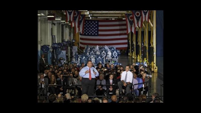 Sandy, raro elogio di Christie a Obama: Eccellente in gestione crisi