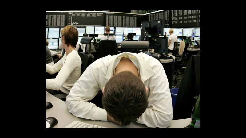 Borsa, Milano peggiore in Europa: male banche, brillante Ansaldo Sts
