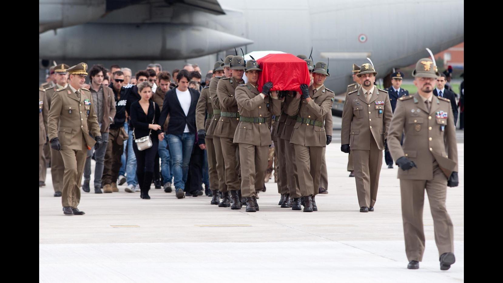 Afghanistan, salma di Chierotti rientrata in Italia