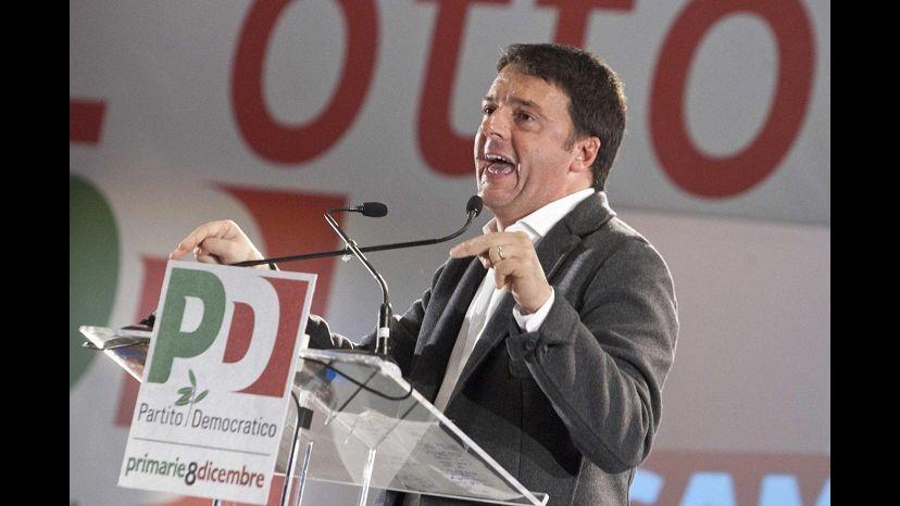 Pd, Renzi: Rinuncio a rimborsi 2014, se Grillo partecipa a riforme