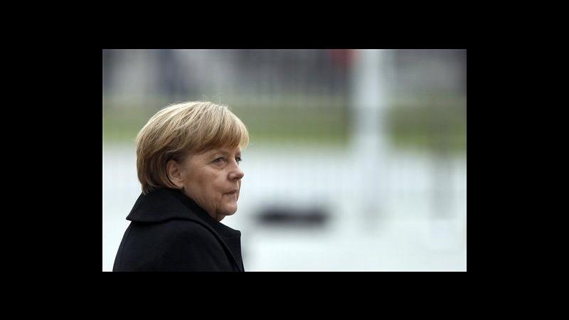 Germania, base Spd dice sì a 'Grosse Koalition' con la Cdu di Merkel