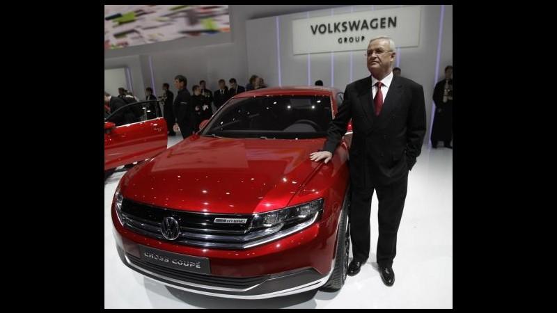 Volkswagen, utile III trimestre a 11,38 mld (+58%) per fusione Porsche
