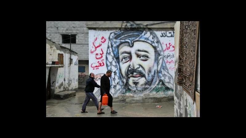 Morte Arafat, mausoleo Ramallah chiuso per inizio esumazione