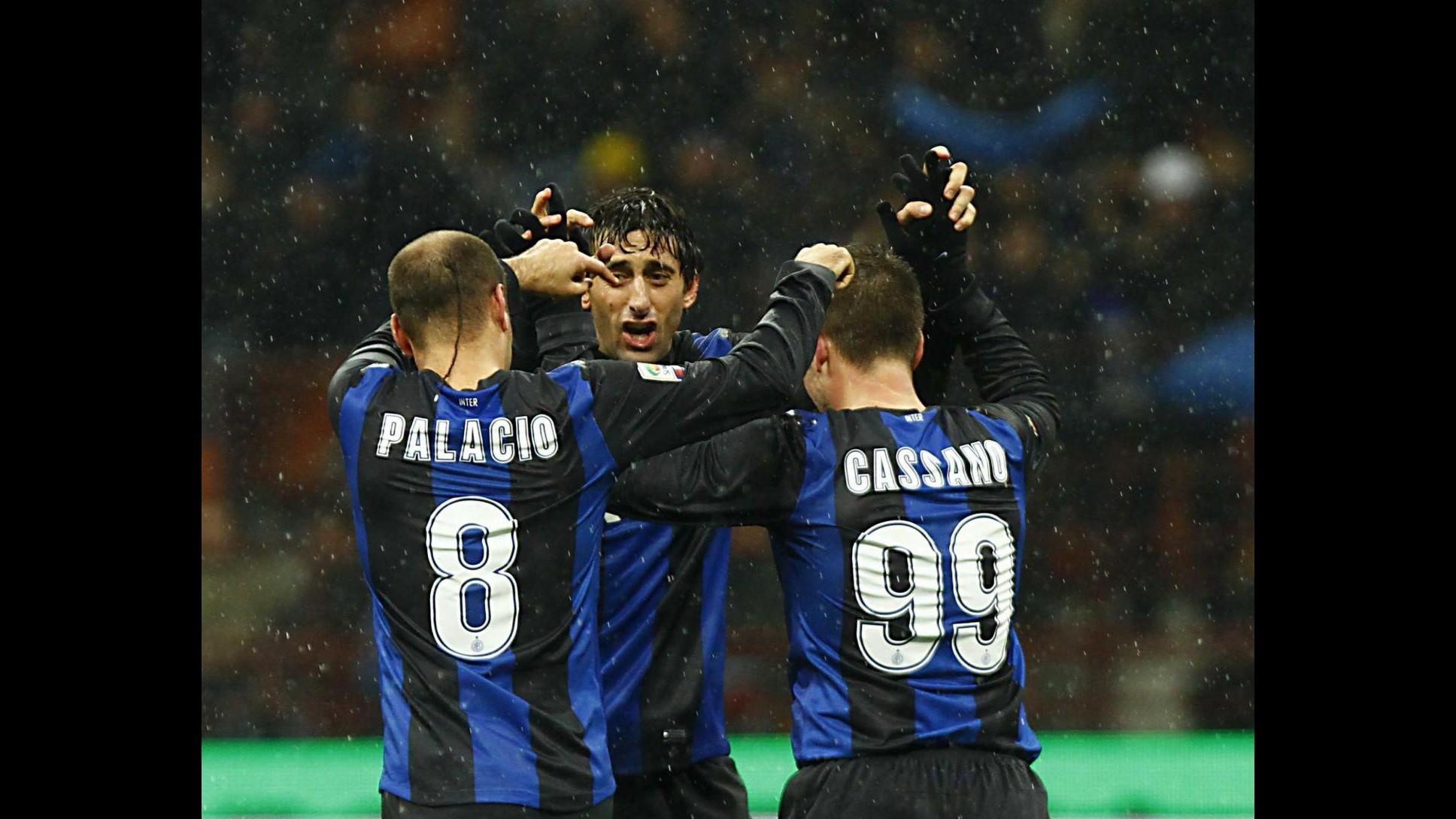 Inter, Milito esalta Cassano e Palacio: Con loro tutto è più facile
