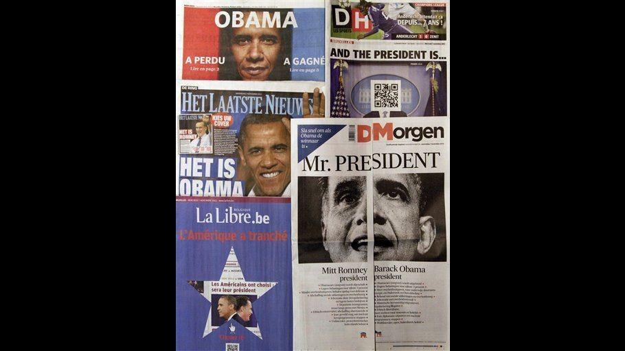 Obama o Romney? In Belgio giornali si ingegnano sulle prime pagine