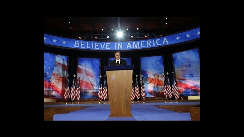 Usa 2012, Romney: Spero di non avervi deluso