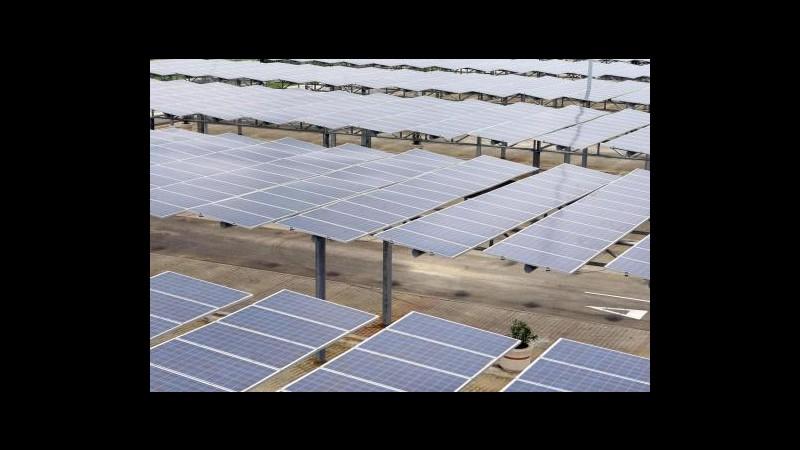 Germania, nel 2012 energia solare +50%, da rinnovabili 26% del totale