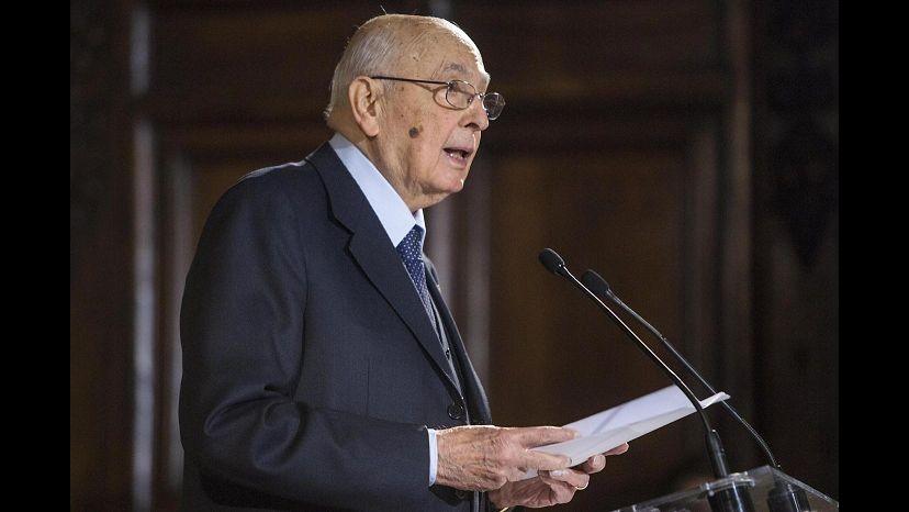 Napolitano a Strasburgo: Basta austerityLa Lega lo contesta in aula