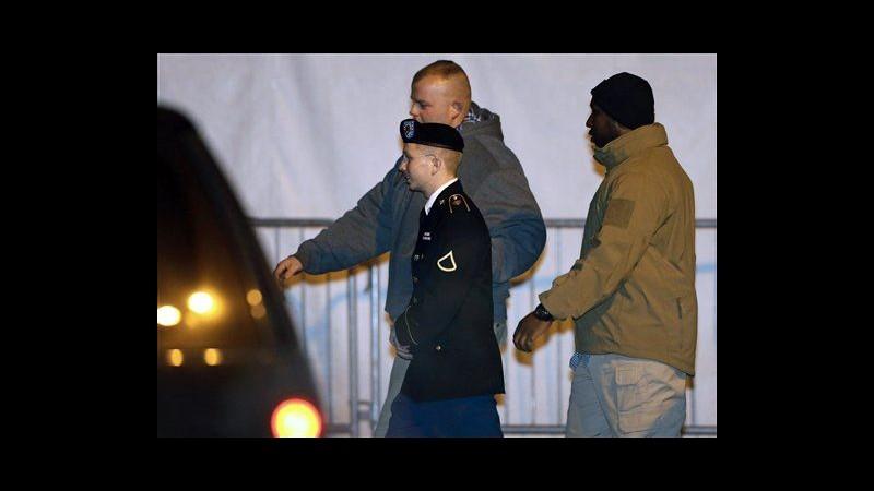 WikiLeaks, in udienza Manning parla capo sicurezza carcere militare