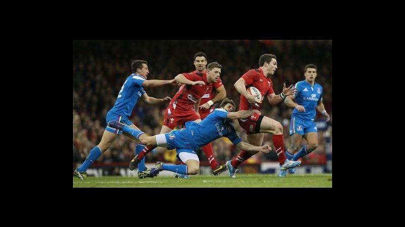 Rugby, Sei Nazioni: vince il Galles ma è bella Italia, 23-15 a Cardiff