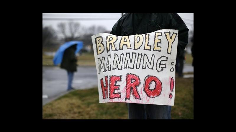 WikiLeaks, al via udienza preliminare del processo a soldato Manning