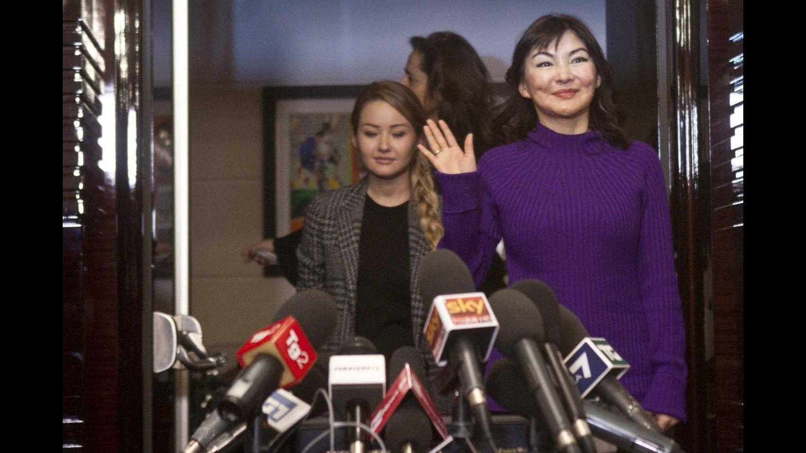 Kazakistan, Shalabayeva in procura Roma: interrogata per 4 ore e mezza