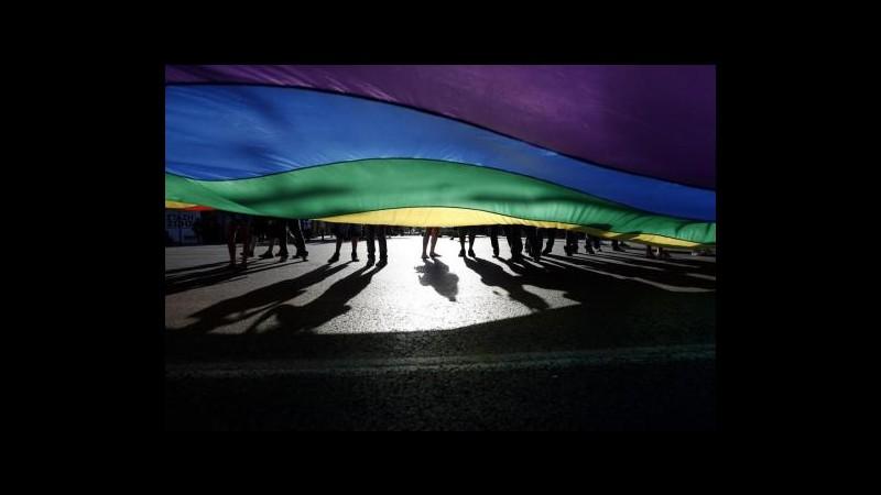 Nuova Delhi, centinaia in corteo per i diritti dei gay