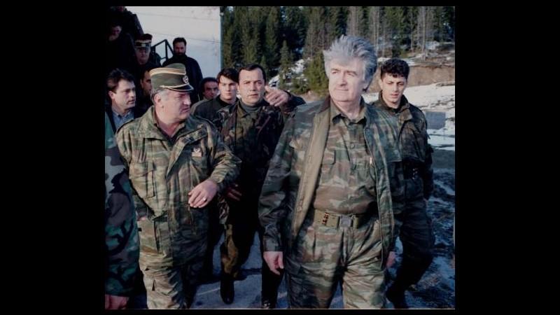 Ex Jugoslavia, Mladic rifiuta di testimoniare a difesa di Karadzic