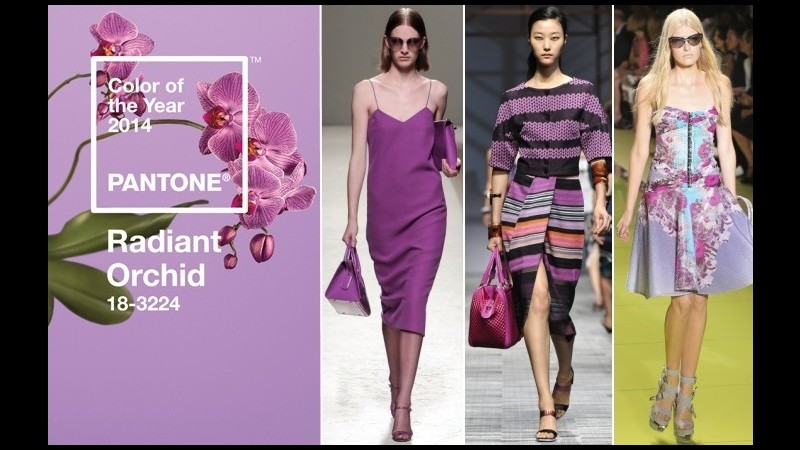 Tendenze, con il colore Radiant Orchid il 2014 è l'anno della fantasia