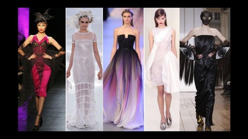 I sogni (e gli incubi) della haute couture francese