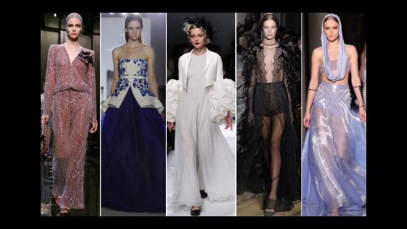 Haute couture, l'alta moda italiana incanta Parigi