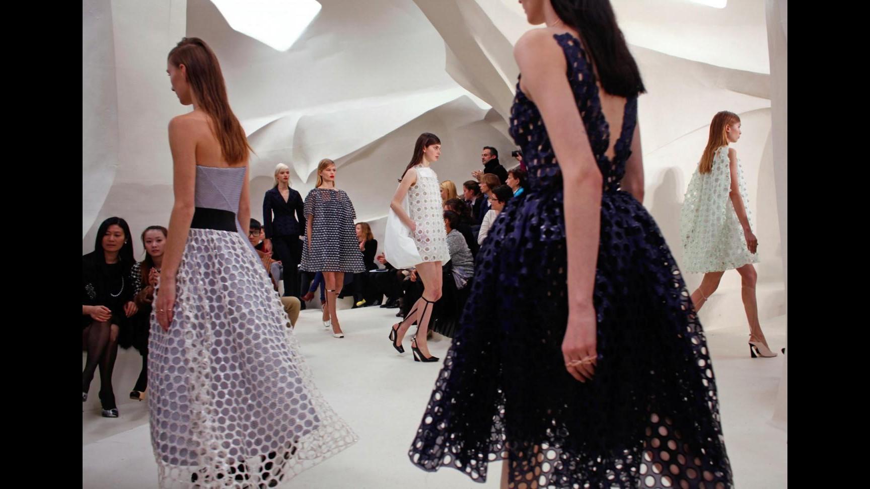 Moda, Dior con Raf Simons è ingannevolmente semplice