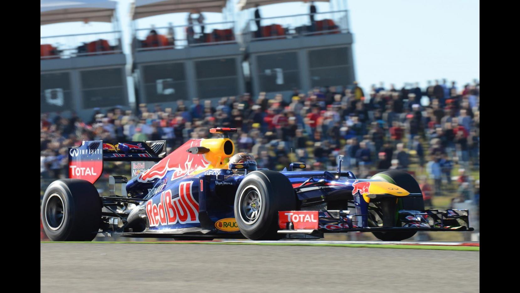 F1, Gp Usa: Vettel il più veloce in seconde libere, Alonso 3/o