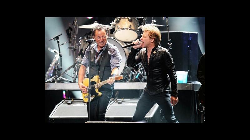Concerto per le vittime di Sandy a New York, sul palco i big del rock