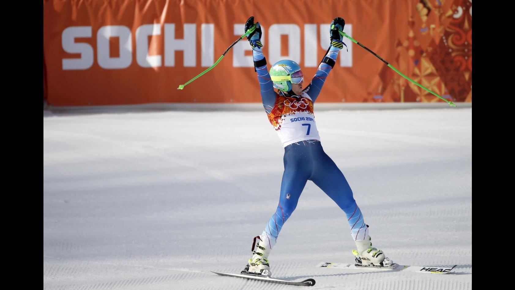 Sochi 2014: Ligety vince oro in gigante davanti a coppia francese, indietro gli azzurri
