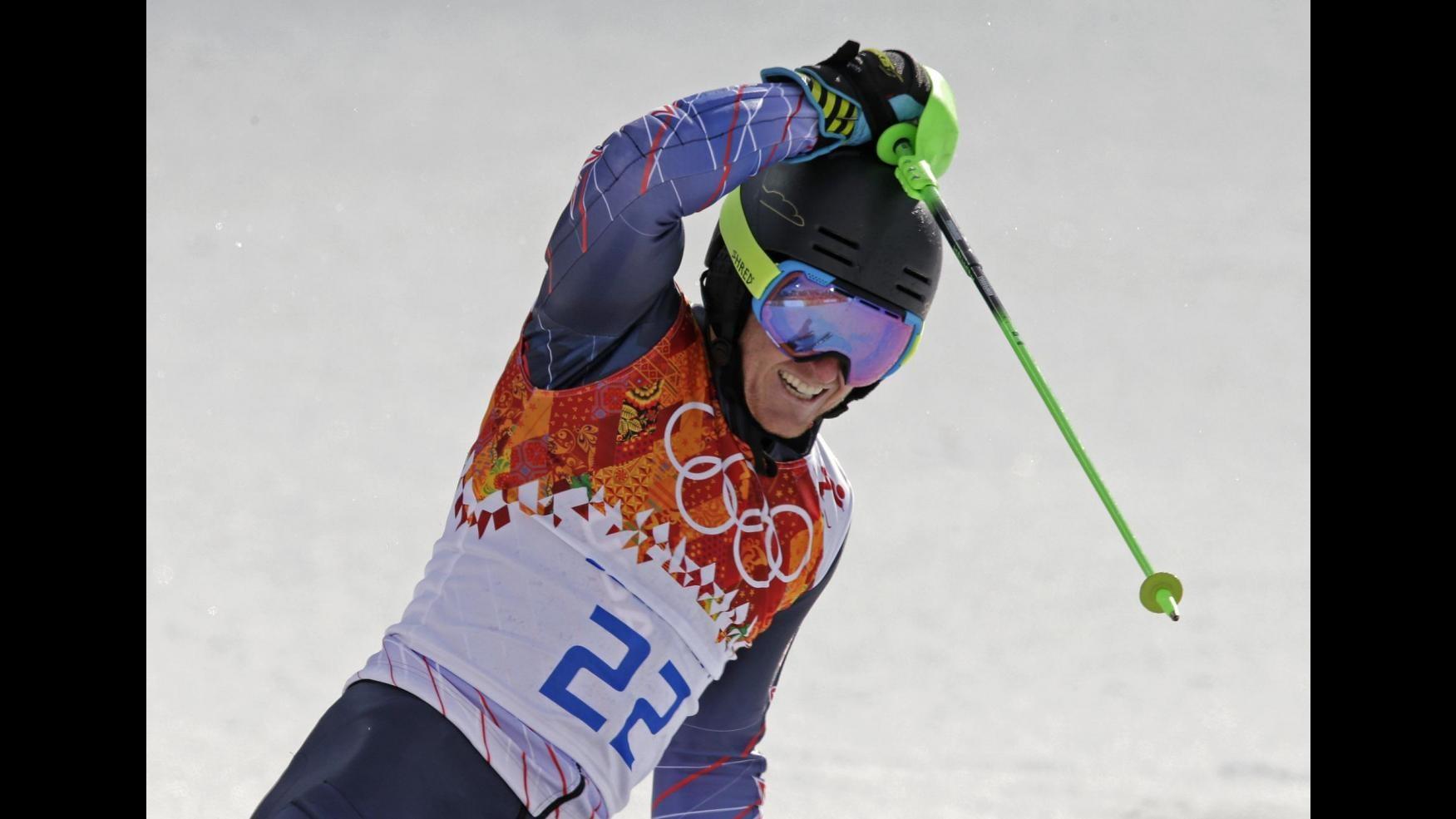 Sochi 2014, gigante uomini: Ligety al comando dopo prima manche, Simoncelli 3°