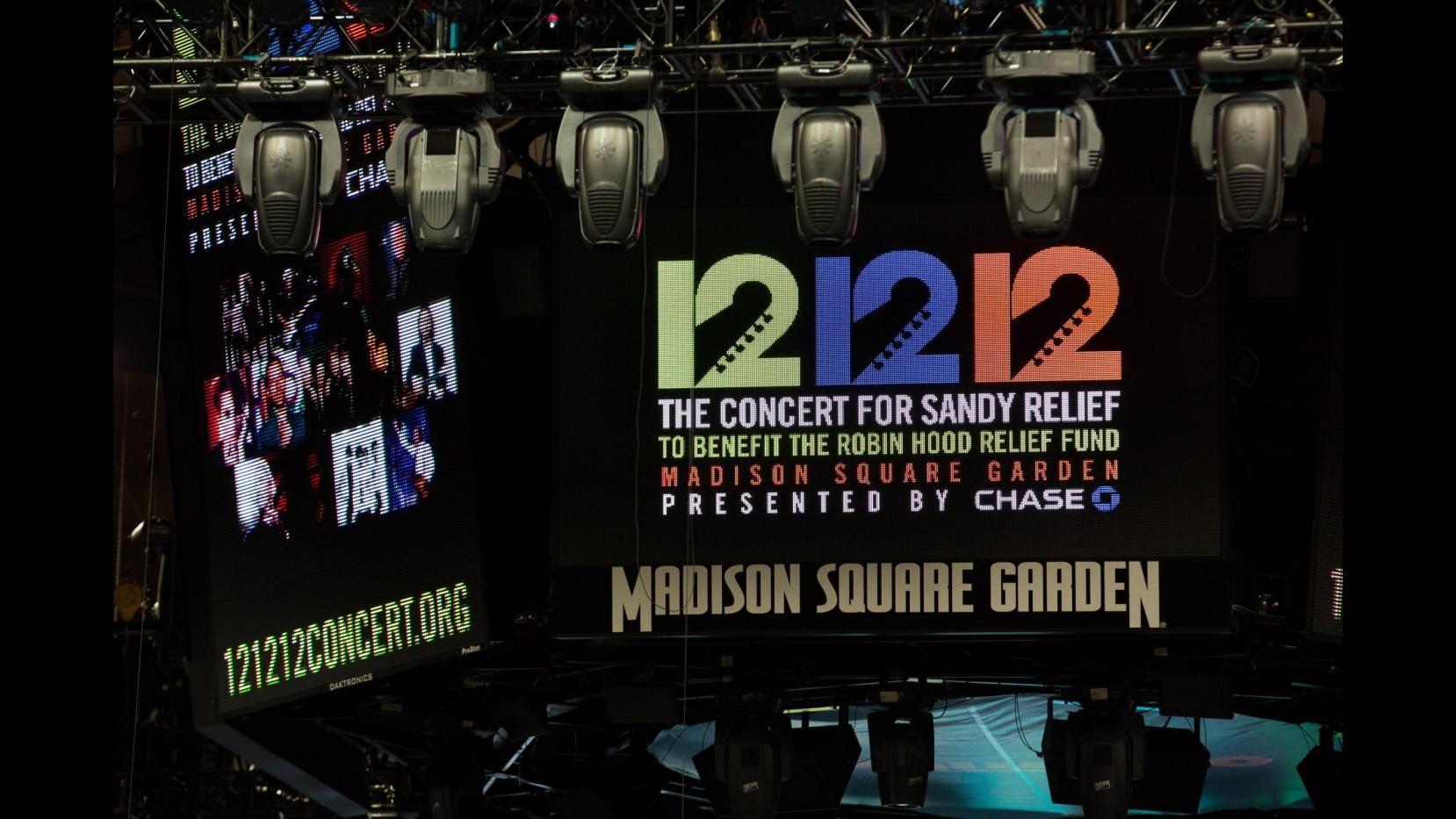 Sandy, Bruce Springsteen darà inizio a concerto '12-12-12′ per vittime