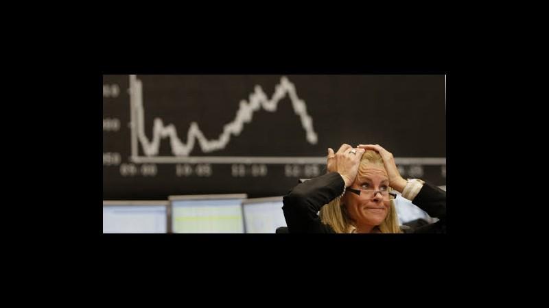Borsa, annuncio dimissioni Monti affonda Milano, bene Mediaset