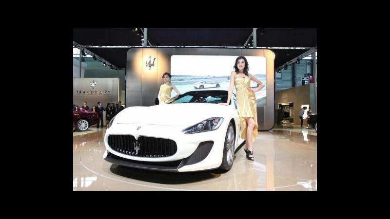 Maserati: Nel 2015 venderemo 50mila auto, tutte made in Italy