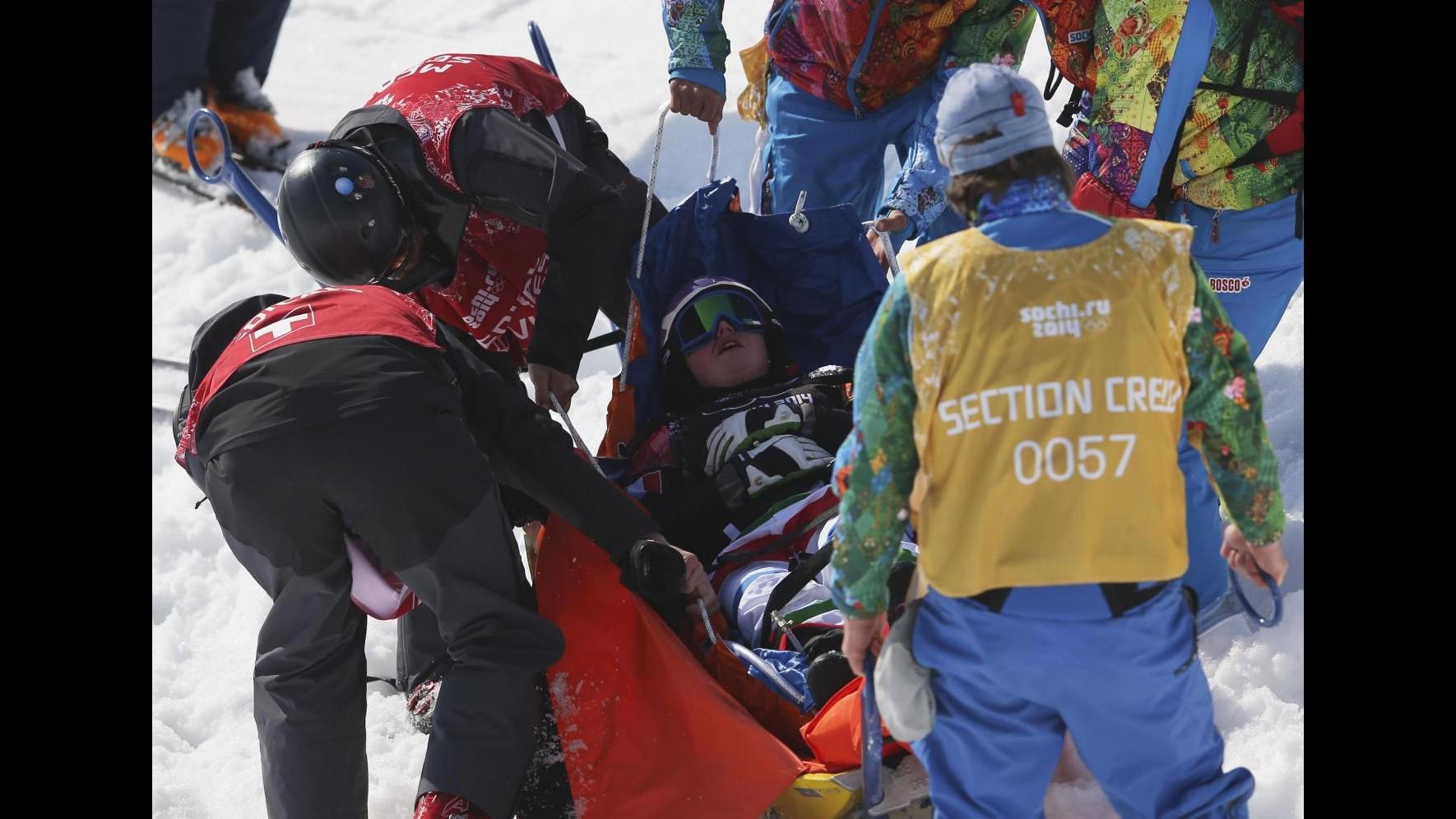Sochi 2014, giornata nera per Italia: Innerhofer scivola, Moioli crac