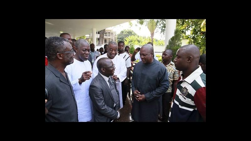 Ghana, vince presidente uscente con 50,7% voti. Sfidante al 47,74%