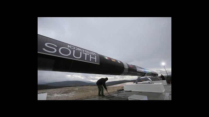 Gazprom, Putin dà il via a costruzione gasdotto South Stream