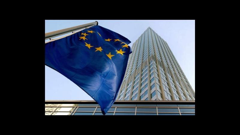 Eurostat: Pil eurozona +0,3% nel IV trimestre, -0,4% nel 2013