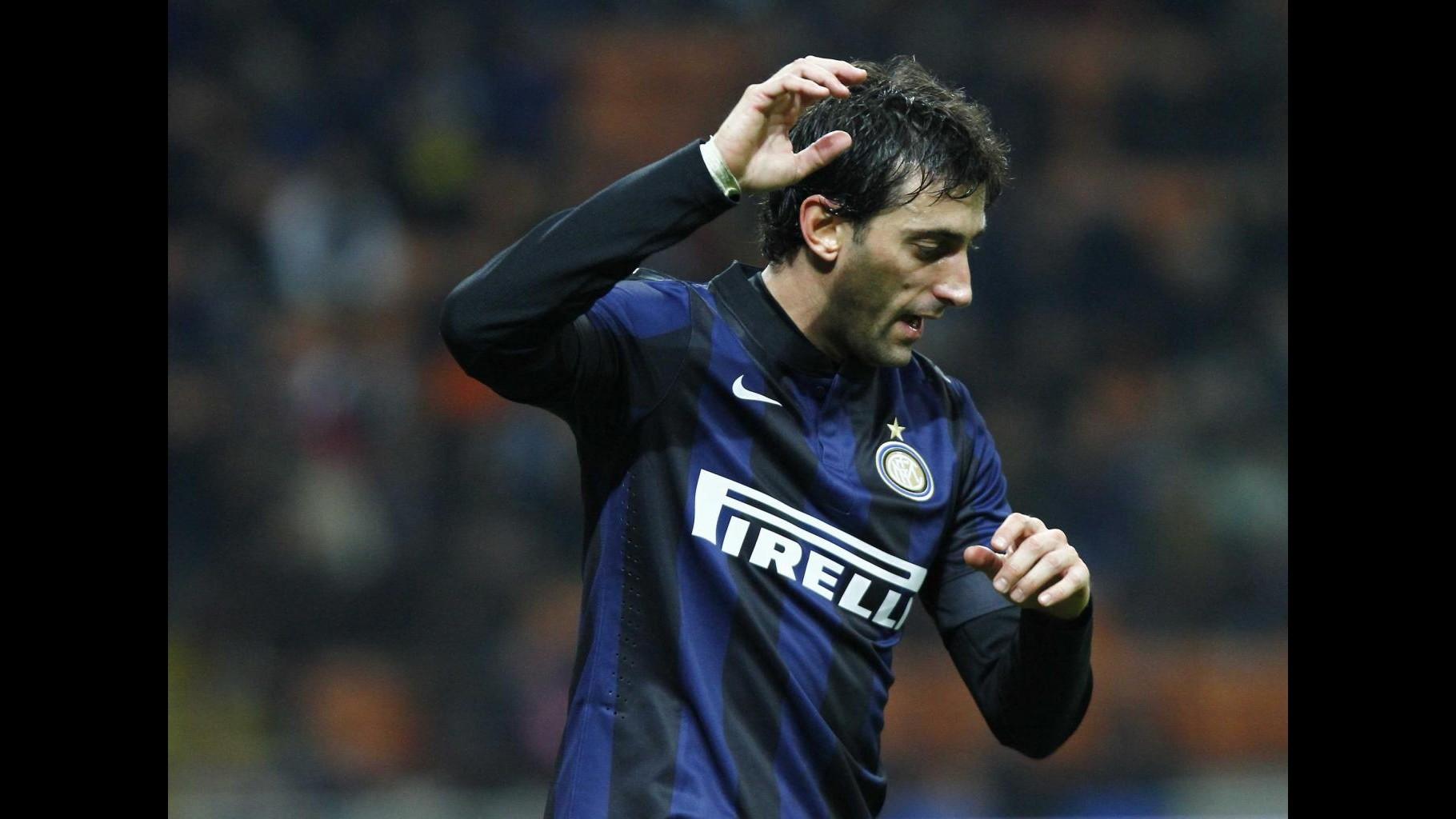 Milito: A Firenze sarà dura, farò di tutto per aiutare Inter