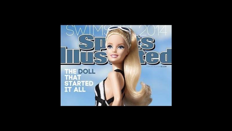 La Barbie in copertina su Sport Illustrated: è polemica