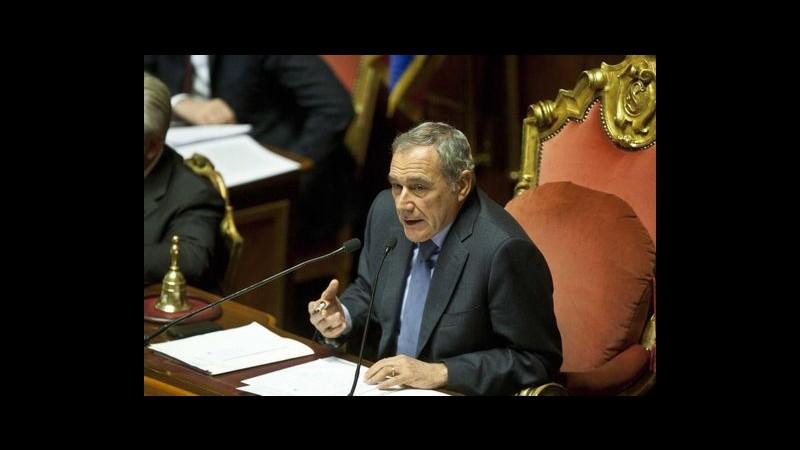 Foibe, Grasso: Italia non può e non vuole dimenticare