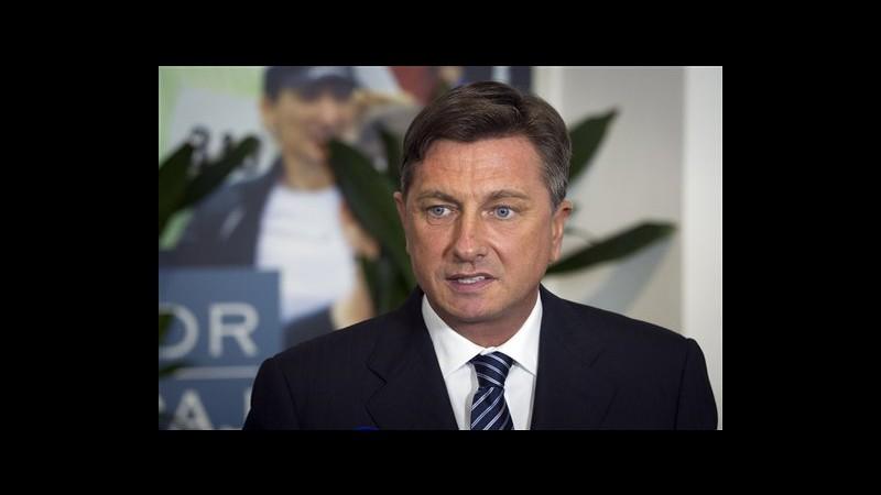 Slovenia, eletto presidente Borut Pahor, ex premier pro austerità