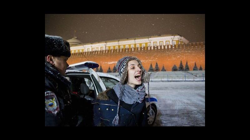 Sochi 2014, fermati 14 attivisti diritti gay a Mosca e San Pietroburgo