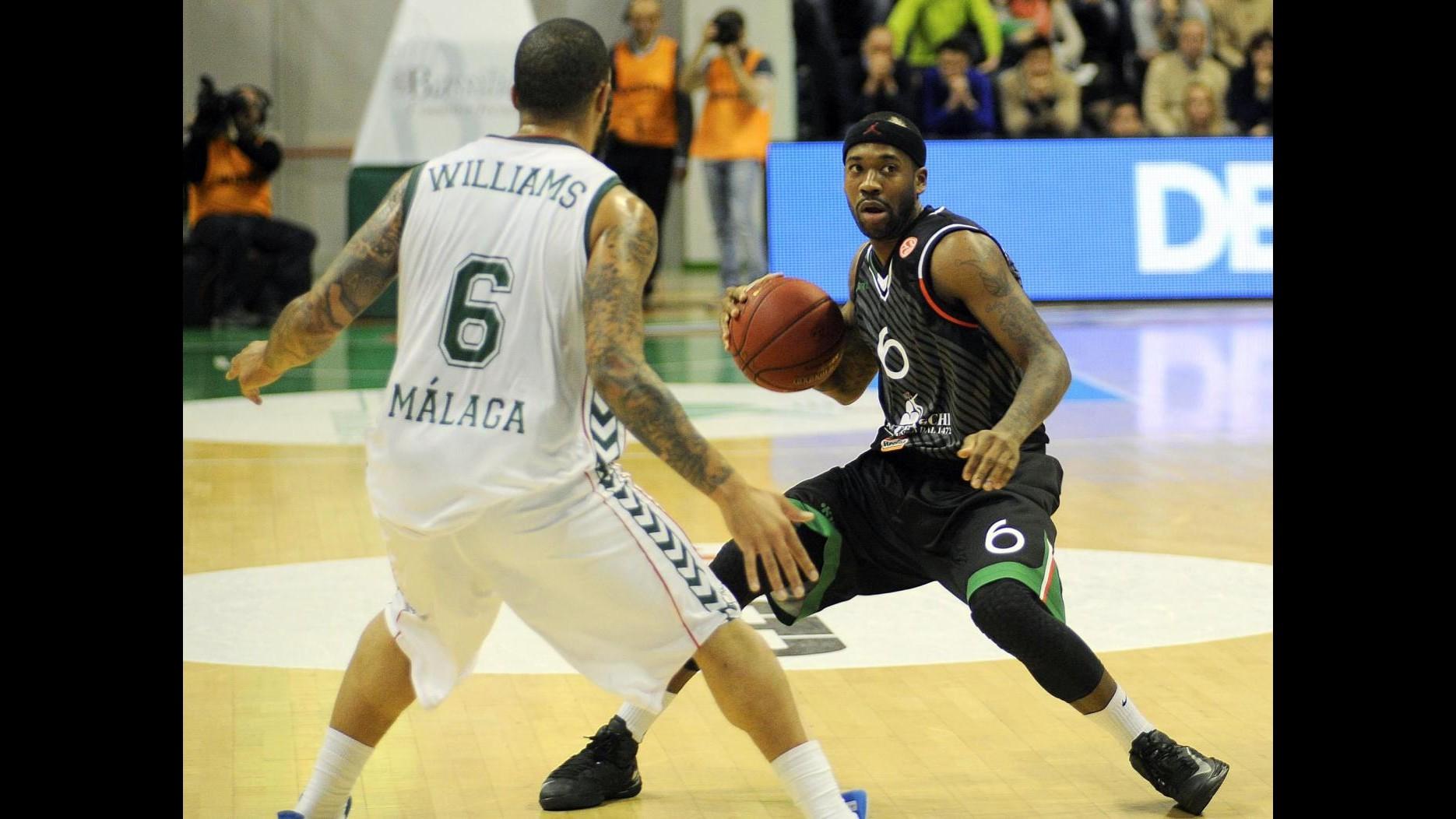 Basket, Eurolega: Siena spazza via Malaga 91-72 e vola alle Top 16