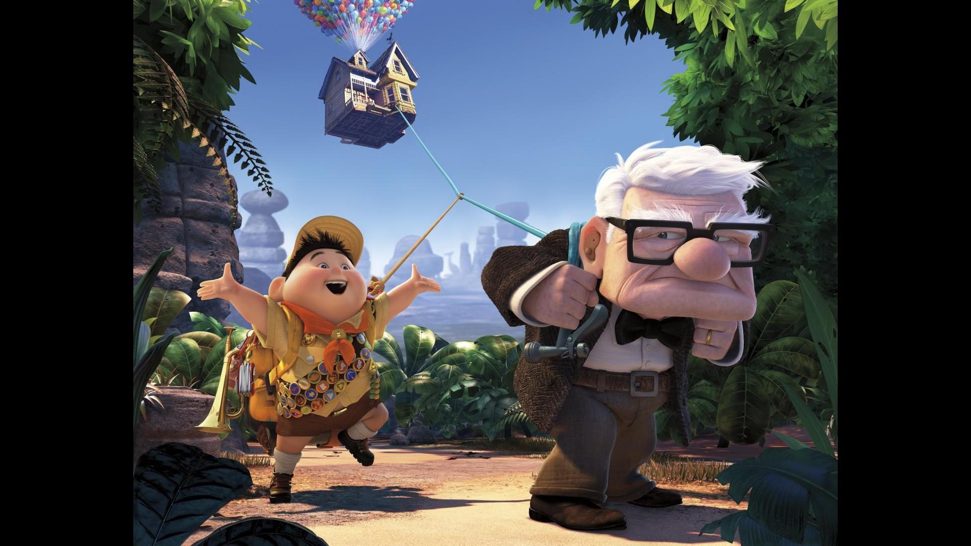 Rai3, 26 dicembre una grande prima visione con 'Up' della Disney-Pixar