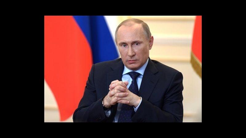Ucraina, Putin non esclude l'uso della forza