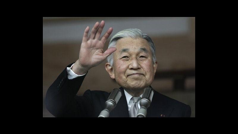 Giappone, imperatore Akihito compie 79 anni: Sto bene, merito di sport
