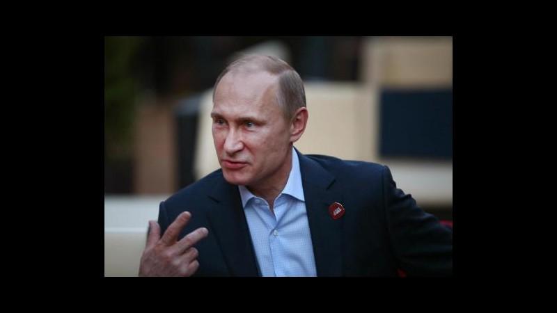 Ucraina, Putin ordina test immediato di prontezza delle truppe