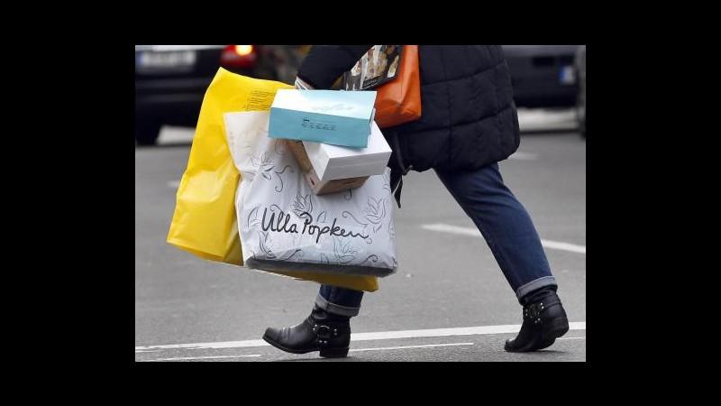 Istat: Vendite al dettaglio -2,1% nel 2013, mai così male