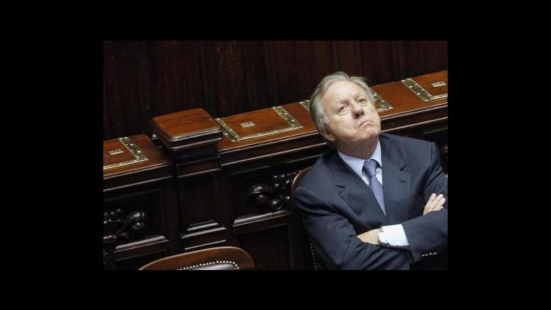 Matteoli (Pdl): Senza Berlusconi sconfitta sarebbe certa