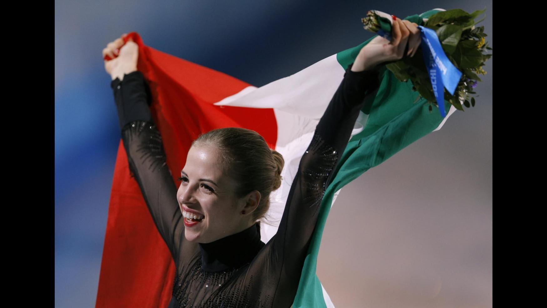 Sochi 2014, ottava medaglia Italia con Carolina Kostner: bronzo nel pattinaggio