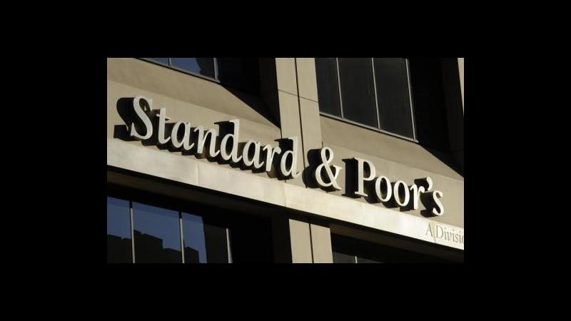 Regno Unito, S&P taglia outlook a 'negativo', invariato rating AAA