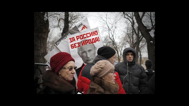 Russia, migliaia in piazza a Mosca contro legge anti adozioni Usa